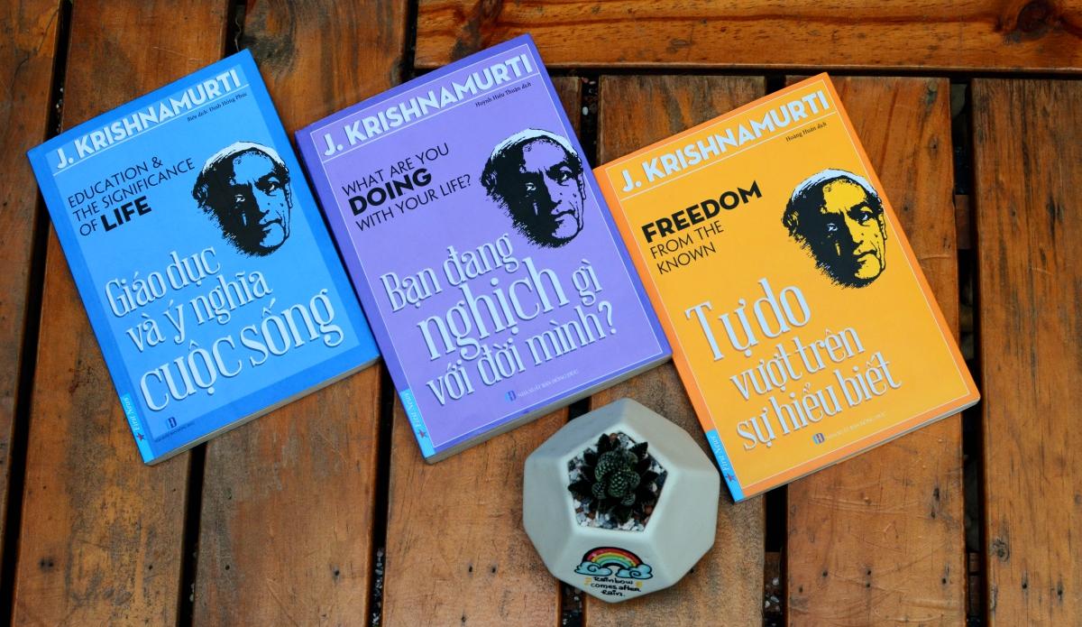 Bộ sách chia sẻ những tư tưởng và thông điệp giá trị của triết gia Jiddu Krishnamurti.