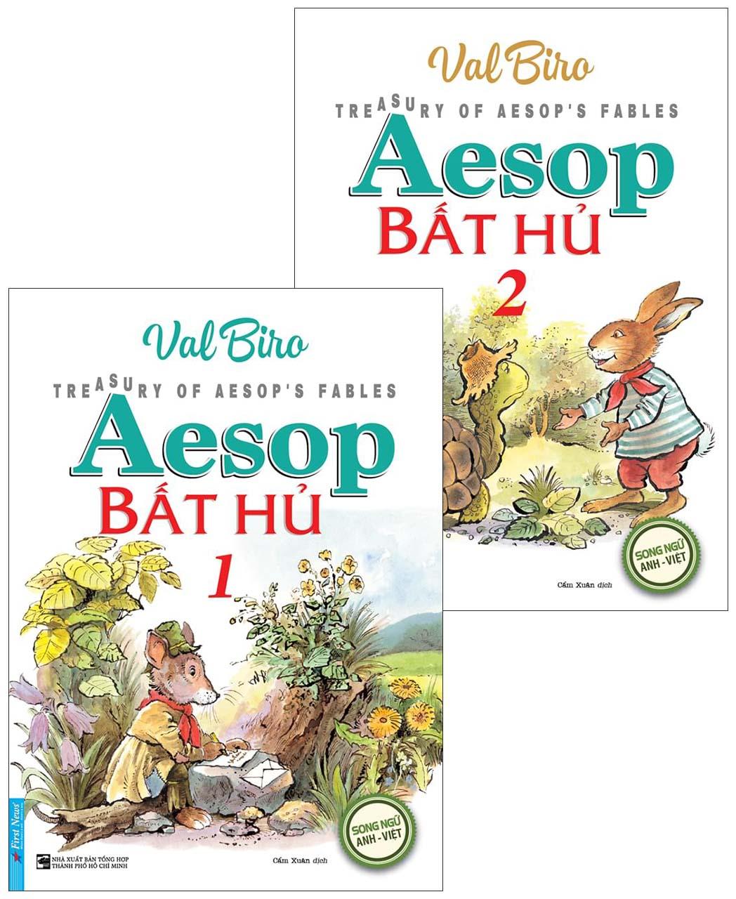 AESOP BẤT HỦ - Bộ 2 cuốn