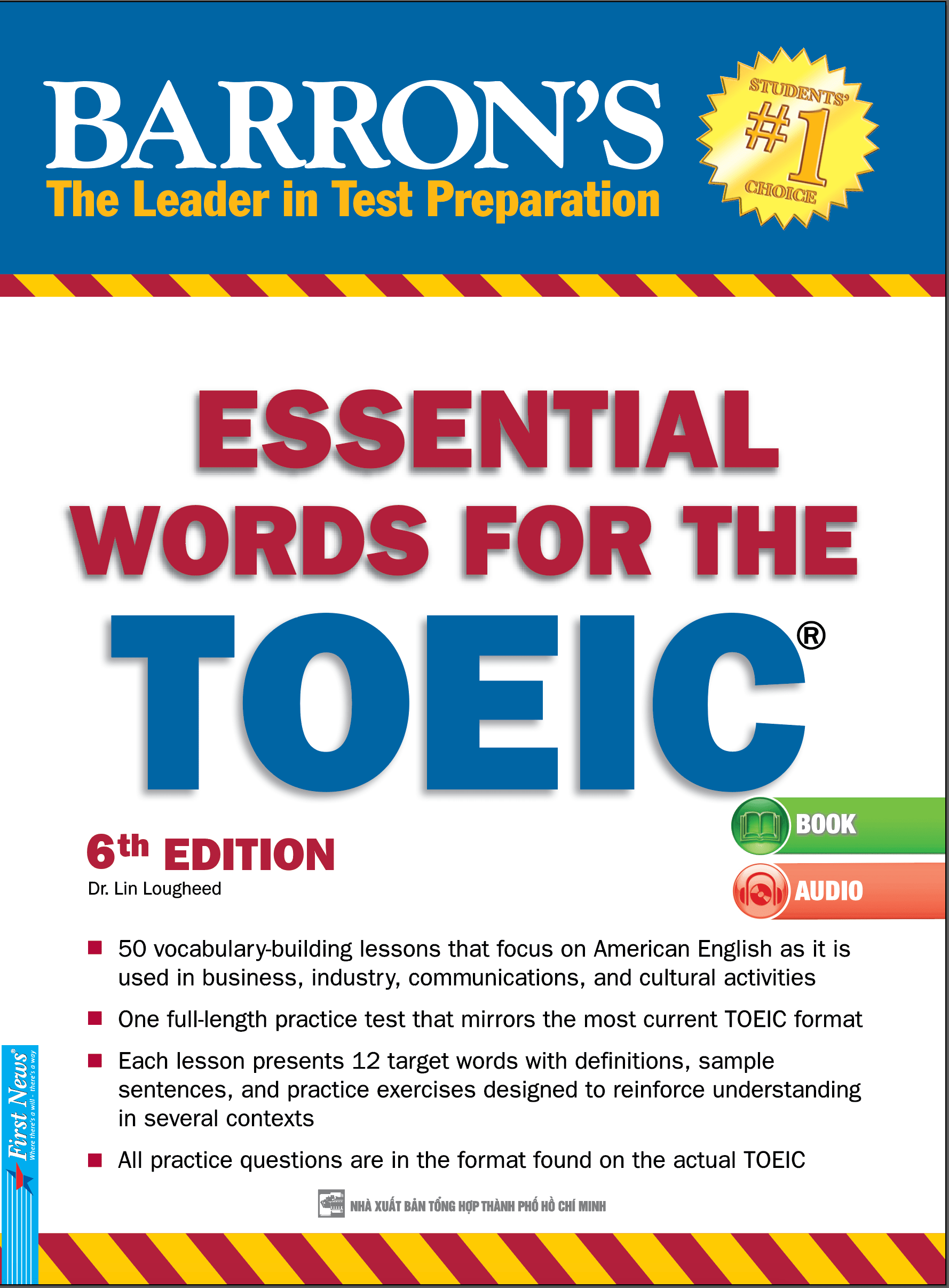 BARRON'S ESSENTIAL WORDS FOR THE TOEIC - 6TH EDITION