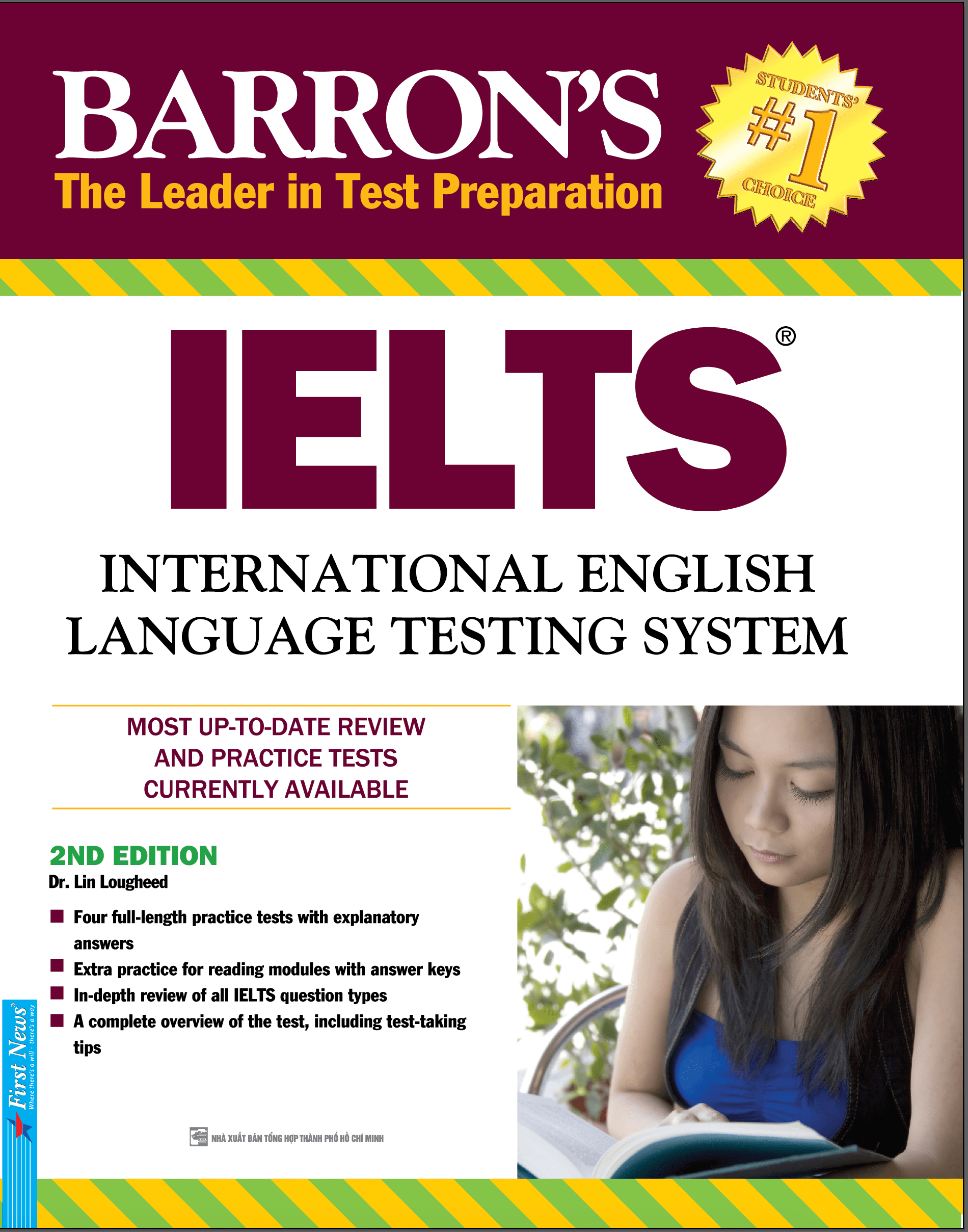 BARRON'S IELTS - THE LEADER IN TEST PREPARATION