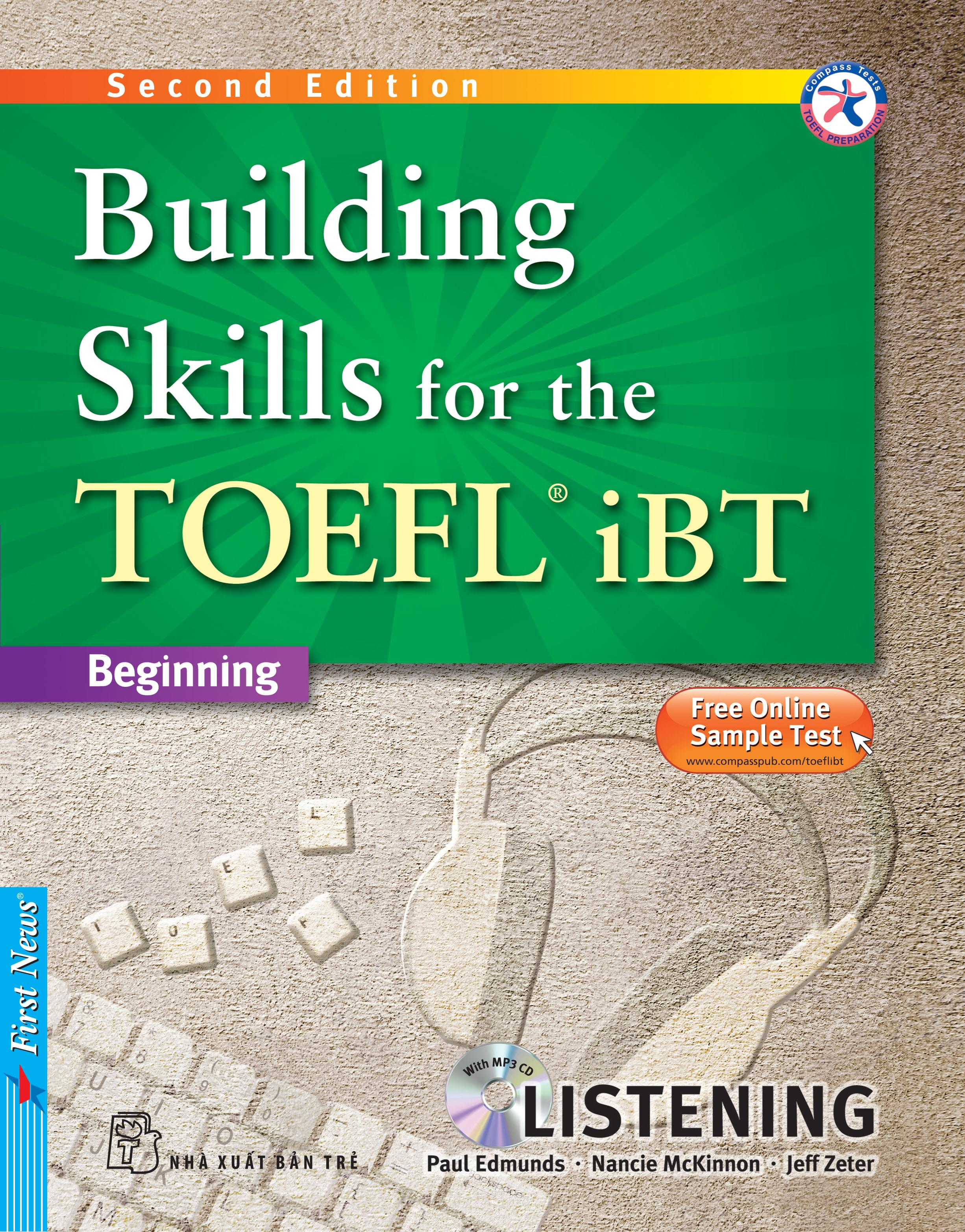 BUILDING SKILLS FOR THE TOEFL IBT - LISTENING (Kèm CD MP3)