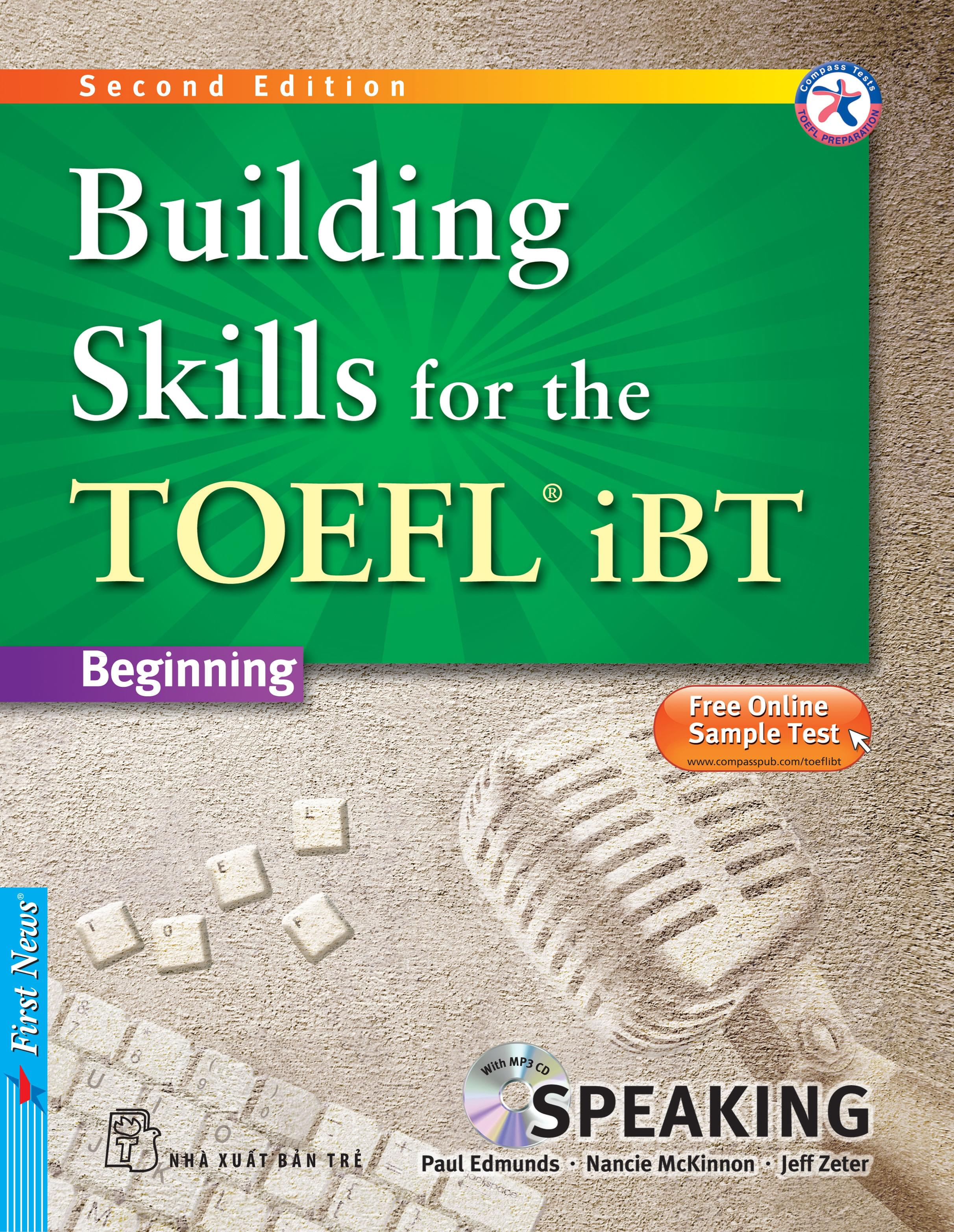 BUILDING SKILLS FOR THE TOEFL IBT - SPEAKING (Kèm CD Mp3)