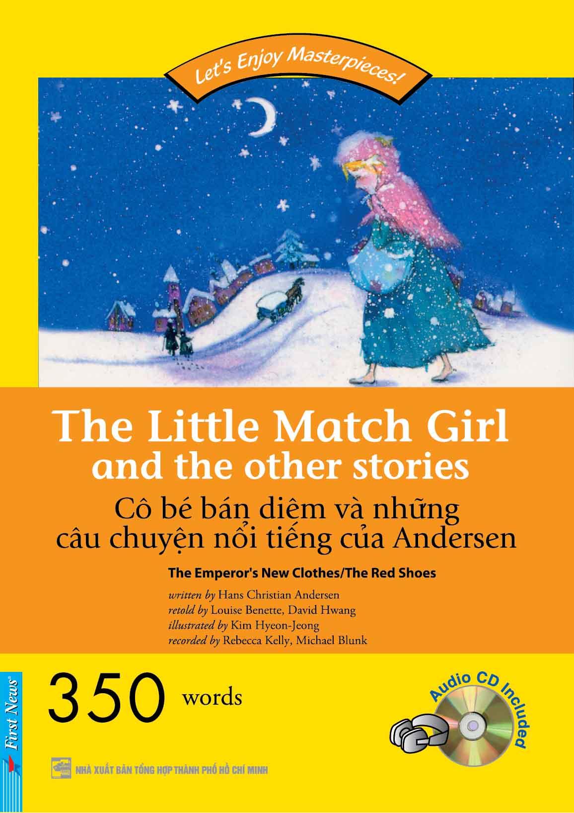 Happy Readers - Cô bé bán diêm và những câu chuyện nổi tiếng của Andersen