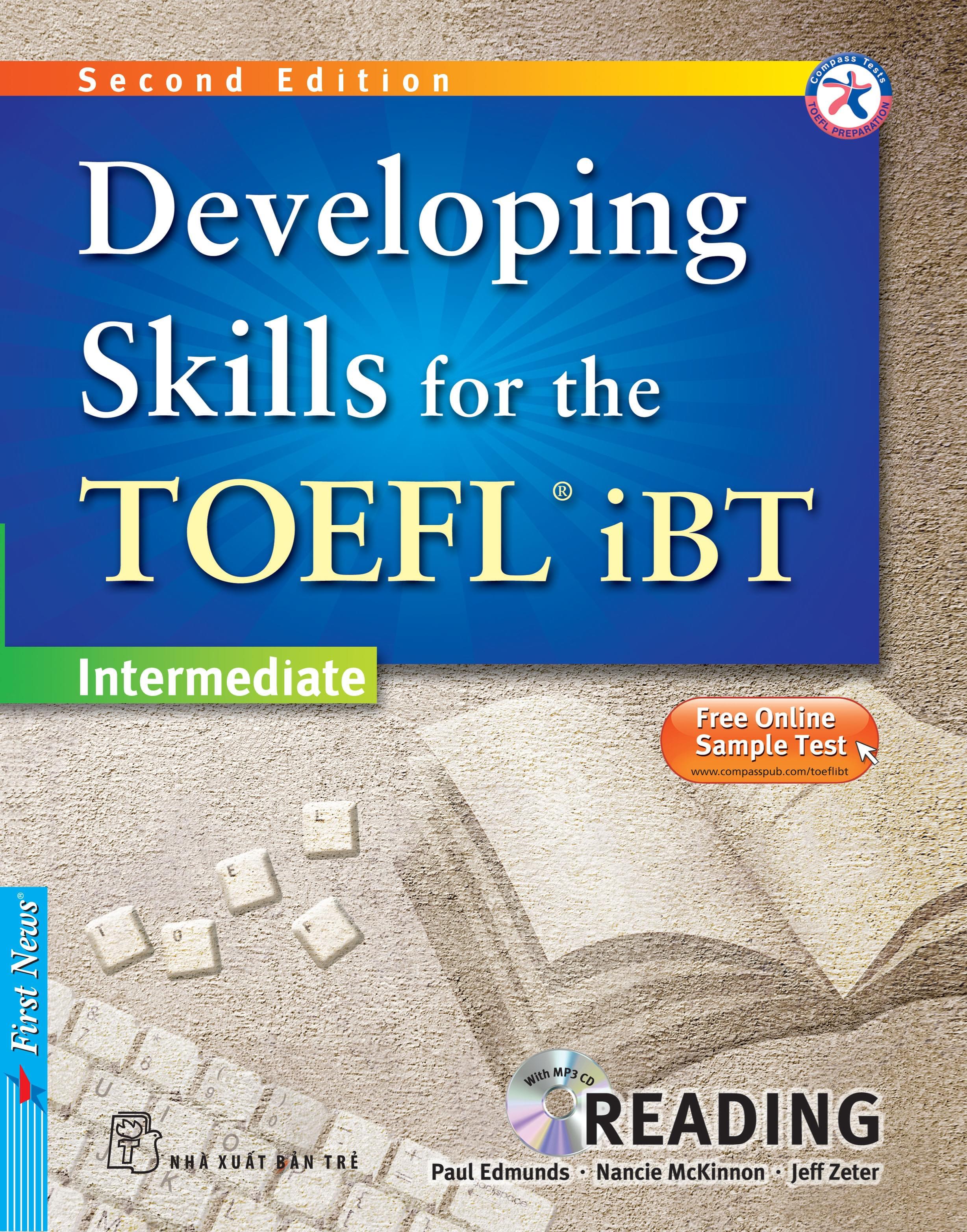 DEVELOPING SKILLS FOR THE TOEFL IBT - SPEAKING (Kèm CD Mp3)