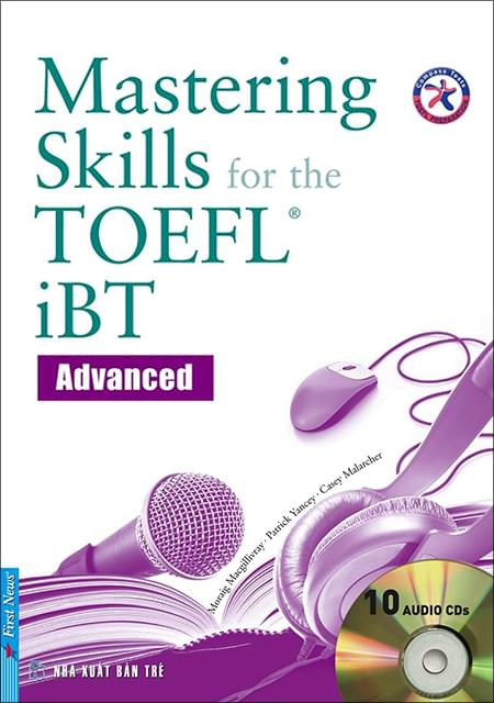 MASTERING SKILLS FOR THE TOEFL IBT (Sách + 10 CD)