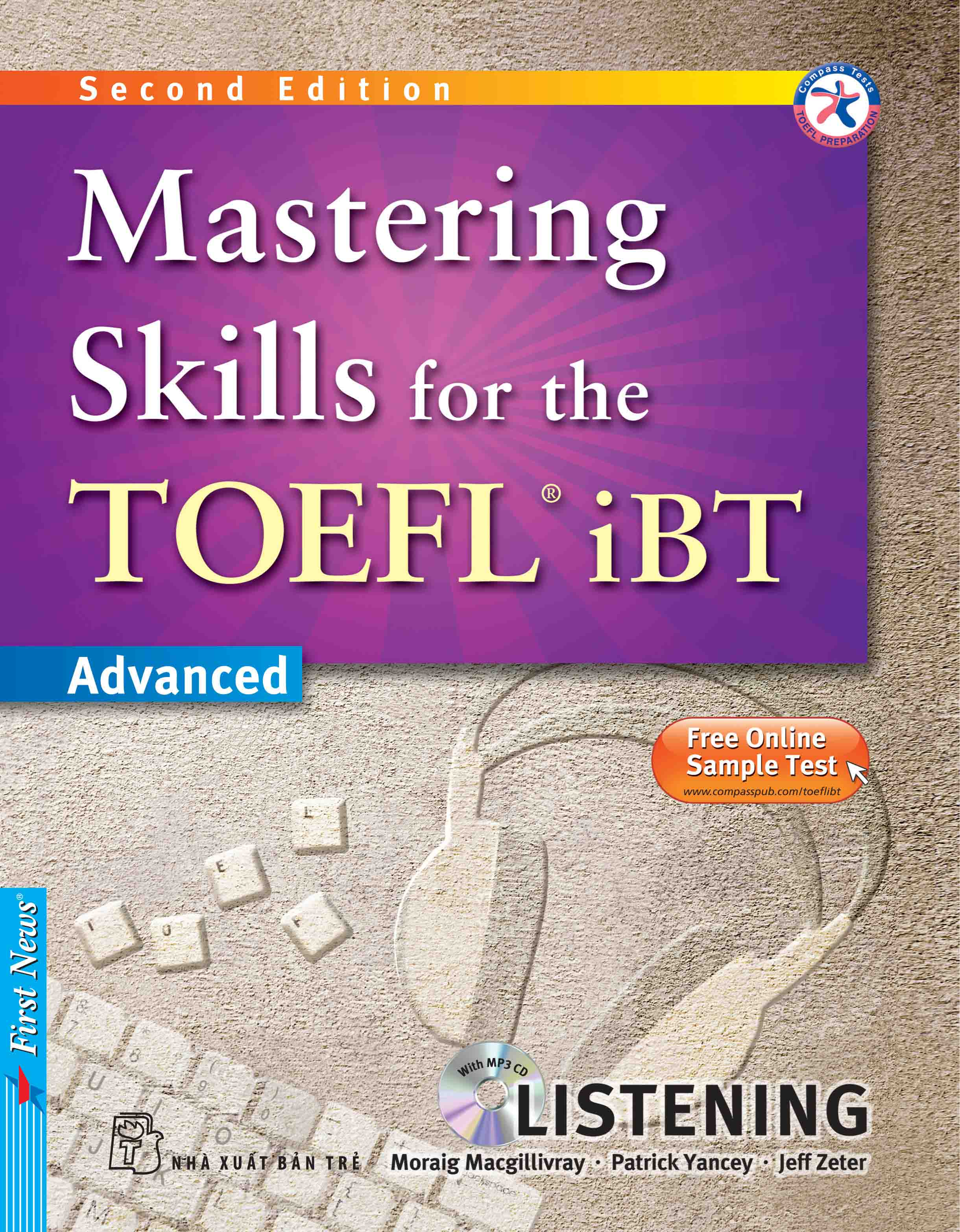 MASTERING SKILLS FOR THE TOEFL IBT - LISTENING (Kèm CD Mp3)
