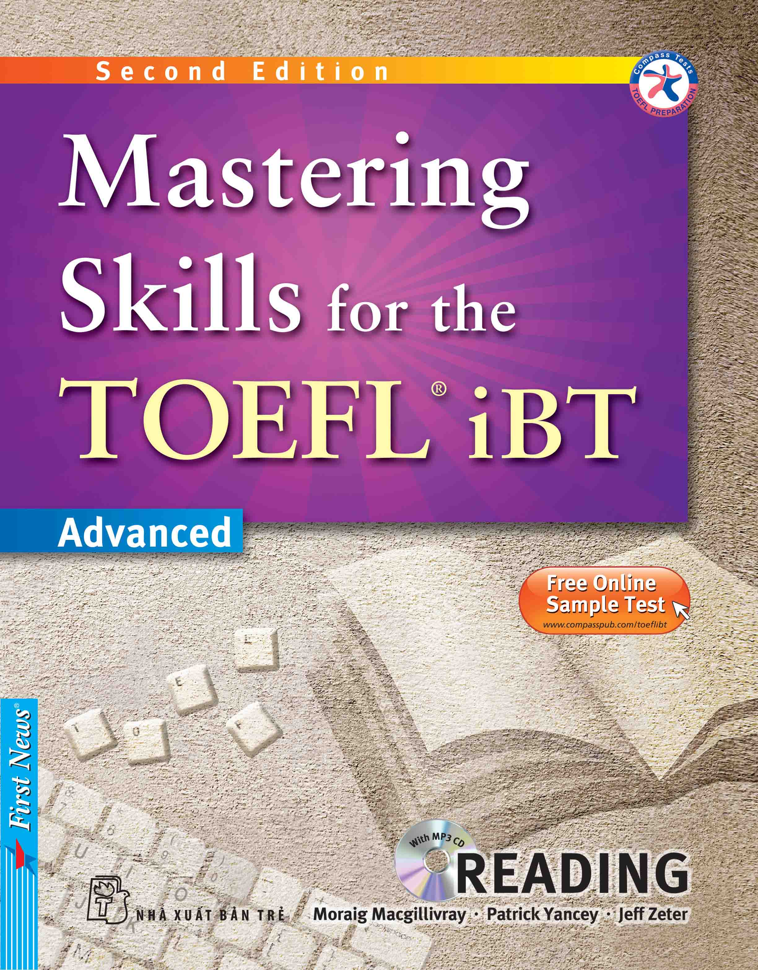 MASTERING SKILLS FOR THE TOEFL IBT - READING (Kèm CD Mp3)