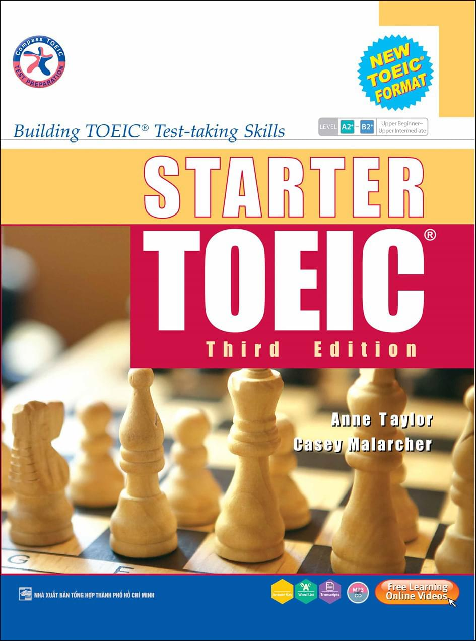 STARTER TOEIC THIRD EDITION BUILDING TOEIC TEST-TAKING SKILLS (S + 3 CD)