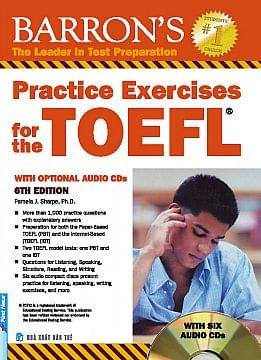 PRACTICE EXERCISES FOR THE TOEFL WITH AUDIO CDS, 6 EDITION