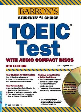 BARRON'S TOEIC TEST WITH 03 AUDIO CDS, 4 EDITION